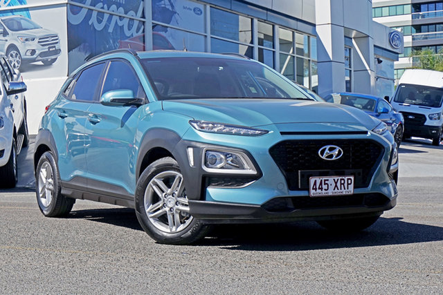 Used Hyundai Kona OS MY18 Active 2WD, 2017 Hyundai Kona OS MY18 Active 2WD Blue 6 Speed Sports Automatic Wagon