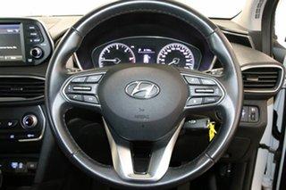 2018 Hyundai Santa Fe DM5 MY18 Active CRDi (4x4) White Cream 6 Speed Automatic Wagon