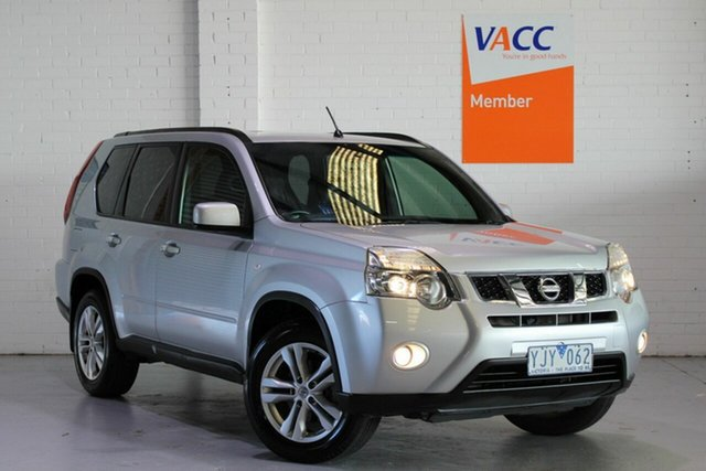Used Nissan X-Trail T31 MY10 ST-L, 2010 Nissan X-Trail T31 MY10 ST-L Silver 1 Speed Constant Variable Wagon