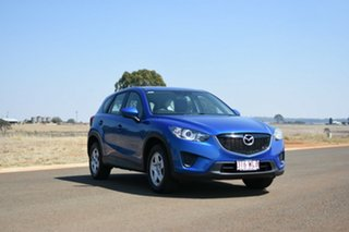 2012 Mazda CX-5 Maxx (4x2) Blue 6 Speed Manual Wagon.