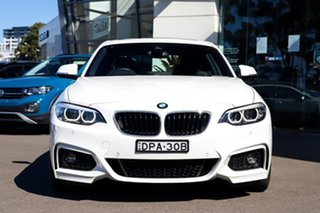 2018 BMW 2 Series F22 LCI 230i M Sport White 8 Speed Sports Automatic Coupe