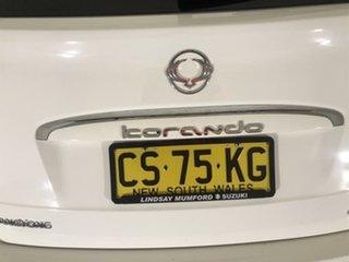 2013 Ssangyong Korando C200 S 2WD White 6 Speed Manual Wagon