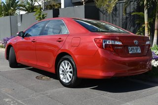 2012 Toyota Camry AVV50R Hybrid H Red 1 Speed Constant Variable Sedan Hybrid.
