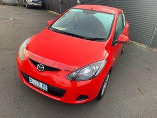2010 Mazda 2 DE10Y1 Neo Red 5 Speed Manual Hatchback.