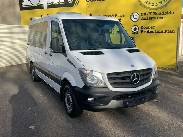 Used Mercedes-Benz Sprinter NCV3 316CDI Low Roof MWB 7G-Tronic Transfer, 2015 Mercedes-Benz Sprinter NCV3 316CDI Low Roof MWB 7G-Tronic Transfer White 7 Speed