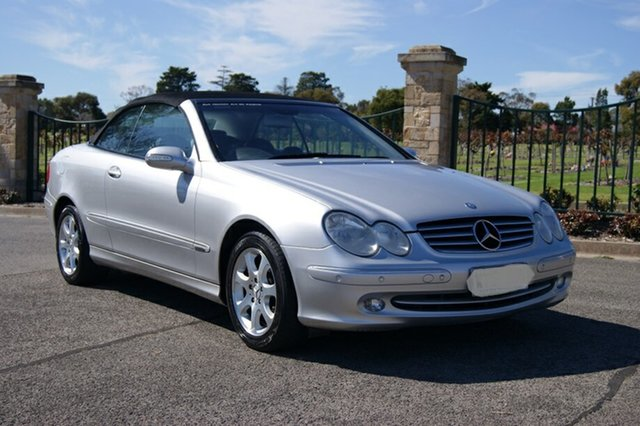 Used Mercedes-Benz CLK320  Elegance, 2003 Mercedes-Benz CLK320 Elegance Silver 5 Speed Automatic Cabriolet
