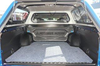2018 Mitsubishi Triton MQ MY18 Exceed (4x4) Blue 5 Speed Automatic Dual Cab Utility