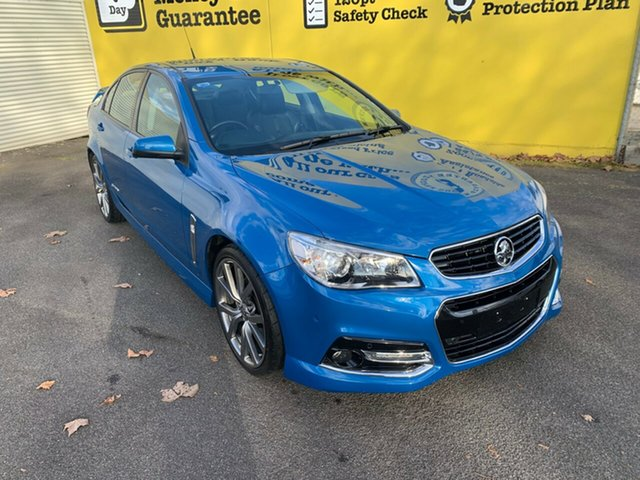 Used Holden Commodore VF MY15 SS Storm, 2015 Holden Commodore VF MY15 SS Storm Perfect Blue 6 Speed Sports Automatic Sedan