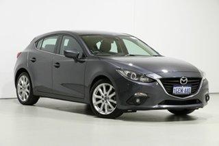 2016 Mazda 3 BM MY15 SP25 Grey 6 Speed Automatic Hatchback.