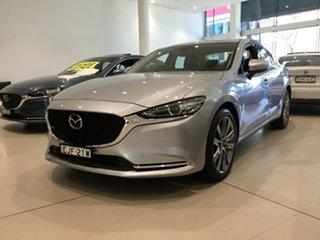2019 Mazda 6 GL1033 GT SKYACTIV-Drive Sonic Silver 6 Speed Sports Automatic Sedan.