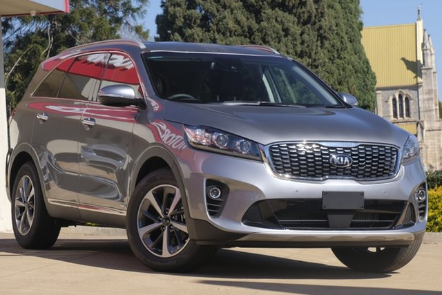 Demo Kia Sorento UM MY20 SLi AWD Toowoomba, 2019 Kia Sorento UM MY20 SLi AWD Steel Grey 8 Speed Sports Automatic Wagon