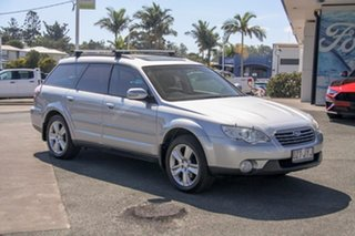 2006 Subaru Outback B4A MY07 Premium Pack AWD Silver 4 Speed Sports Automatic Wagon