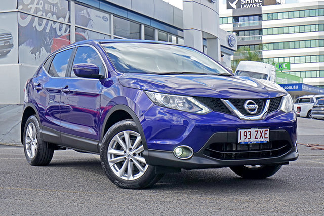 Used Nissan Qashqai J11 ST, 2015 Nissan Qashqai J11 ST Blue 1 Speed Constant Variable Wagon