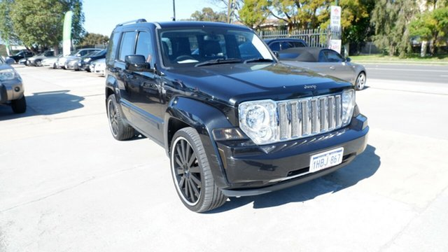 Used Jeep Cherokee KK MY10 Limited, 2010 Jeep Cherokee KK MY10 Limited Black 4 Speed Automatic Wagon