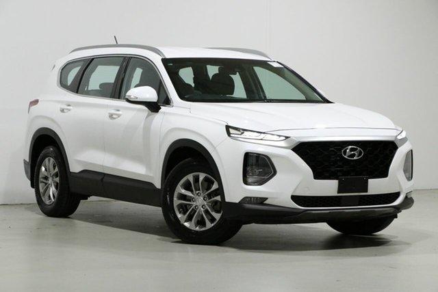 Used Hyundai Santa Fe DM5 MY18 Active CRDi (4x4), 2018 Hyundai Santa Fe DM5 MY18 Active CRDi (4x4) White Cream 6 Speed Automatic Wagon