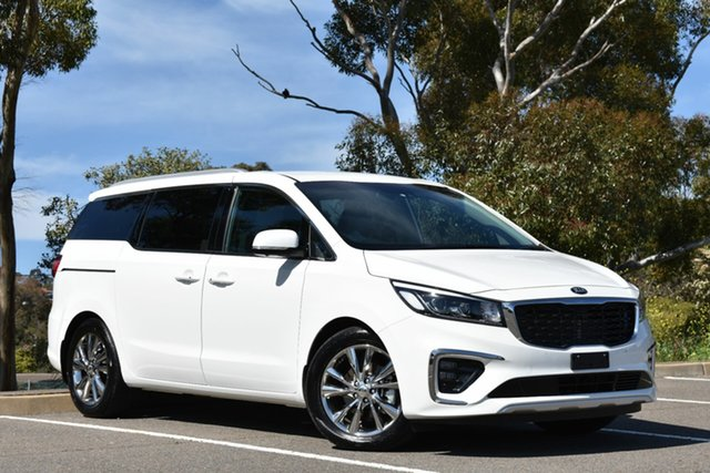Used Kia Carnival YP MY19 Platinum, 2019 Kia Carnival YP MY19 Platinum White 8 Speed Sports Automatic Wagon