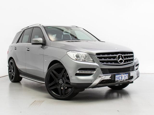 Used Mercedes-Benz ML250 CDI BlueTEC 166 4x4, 2012 Mercedes-Benz ML250 CDI BlueTEC 166 4x4 Silver 7 Speed Automatic Wagon