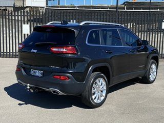 2015 Jeep Cherokee KL MY16 Limited Black 9 Speed Sports Automatic Wagon