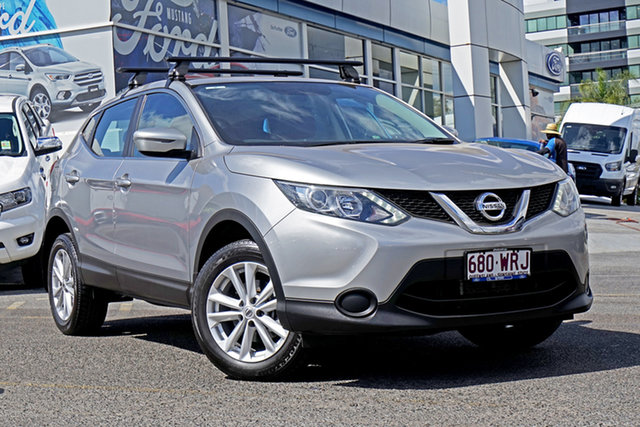 Used Nissan Qashqai J11 ST, 2016 Nissan Qashqai J11 ST Silver 1 Speed Constant Variable Wagon