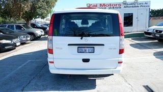 2011 Mercedes-Benz Vito 639 MY11 113CDI Crew Cab White 5 Speed Automatic Van