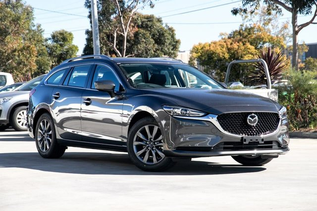 New Mazda 6 GL Sport Kirrawee, 2020 Mazda 6 GL Sport Machine Grey 6 Speed Automatic Wagon