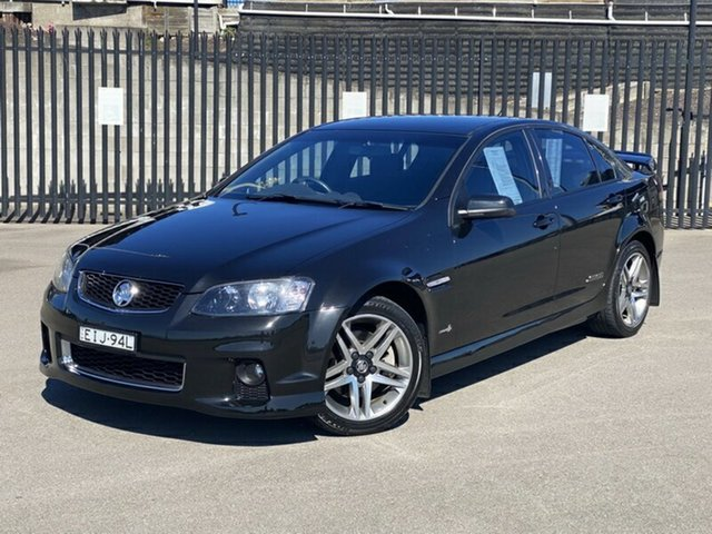 Used Holden Commodore VE II MY12 SS, 2012 Holden Commodore VE II MY12 SS Black 6 Speed Manual Sedan