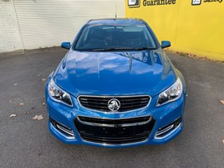 2015 Holden Commodore VF MY15 SS Storm Perfect Blue 6 Speed Sports Automatic Sedan.