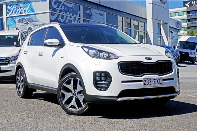 Used Kia Sportage QL MY17 GT-Line AWD, 2016 Kia Sportage QL MY17 GT-Line AWD White 6 Speed Sports Automatic Wagon
