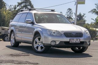 2006 Subaru Outback B4A MY07 Premium Pack AWD Silver 4 Speed Sports Automatic Wagon.
