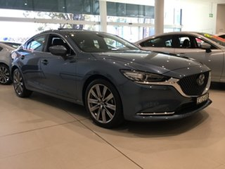 2019 Mazda 6 GL1033 Atenza SKYACTIV-Drive Blue Reflex 6 Speed Sports Automatic Sedan