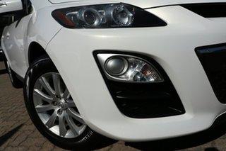 2010 Mazda CX-7 ER MY10 Classic (FWD) White 5 Speed Auto Activematic Wagon.