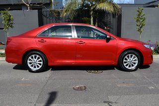 2012 Toyota Camry AVV50R Hybrid H Red 1 Speed Constant Variable Sedan Hybrid