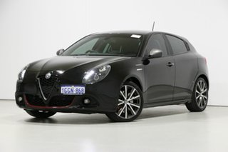2017 Alfa Romeo Giulietta Series 2 Veloce TCT Black 6 Speed Auto Dual Clutch Hatchback.