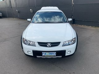 2004 Holden Crewman VY II Cross 8 White 4 Speed Automatic Utility.