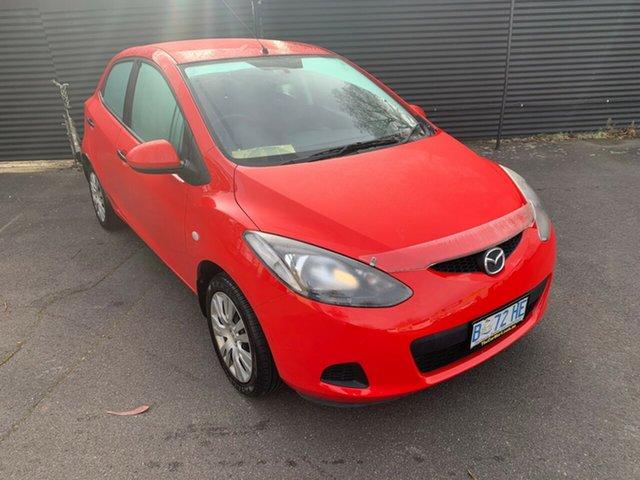 Used Mazda 2 DE10Y1 Neo, 2010 Mazda 2 DE10Y1 Neo Red 5 Speed Manual Hatchback