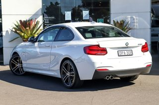 2018 BMW 2 Series F22 LCI 230i M Sport White 8 Speed Sports Automatic Coupe.