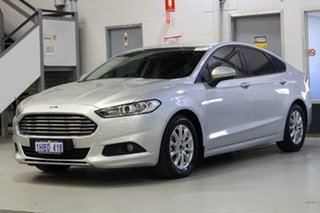 2015 Ford Mondeo MD Ambiente TDCi Silver 6 Speed Automatic Hatchback.