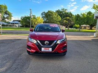 2018 Nissan Qashqai J11 MY18 ST Red Automatic Wagon.