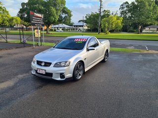 2013 Holden Commodore VE SSZ Nitrate Silver 6 Speed Manual Utility.