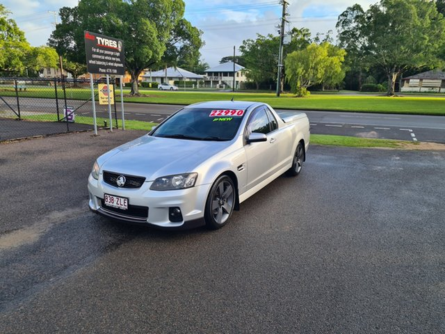 Used Holden Commodore VE SSZ Ingham, 2013 Holden Commodore VE SSZ Nitrate Silver 6 Speed Manual Utility