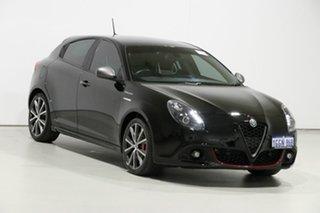 2017 Alfa Romeo Giulietta Series 2 Veloce TCT Black 6 Speed Auto Dual Clutch Hatchback