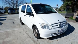 2011 Mercedes-Benz Vito 639 MY11 113CDI Crew Cab White 5 Speed Automatic Van.