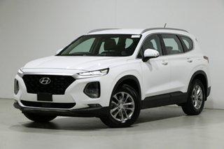 2018 Hyundai Santa Fe DM5 MY18 Active CRDi (4x4) White Cream 6 Speed Automatic Wagon.