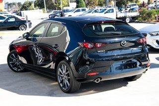 2020 Mazda 3 BP G25 Evolve Vision Jet Black 6 Speed Manual Hatchback.