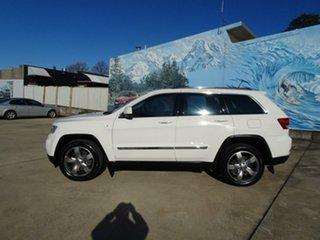 2012 Jeep Grand Cherokee WK MY2012 Laredo Stone white 5 Speed Sports Automatic Wagon