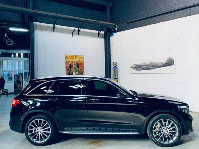 Used Mercedes-Benz GLC-Class X253 GLC250 d 9G-Tronic 4MATIC, 2016 Mercedes-Benz GLC-Class X253 GLC250 d 9G-Tronic 4MATIC Black 9 Speed Sports Automatic Wagon