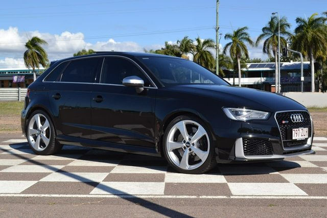 Used Audi RS 3 8V MY16 Sportback S Tronic Quattro, 2016 Audi RS 3 8V MY16 Sportback S Tronic Quattro Black 7 Speed Sports Automatic Dual Clutch