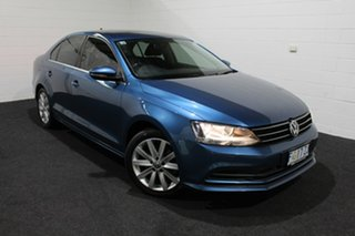 2017 Volkswagen Jetta 1B MY17 118TSI DSG Comfortline Blue 7 Speed Sports Automatic Dual Clutch Sedan.
