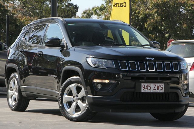 Used Jeep Compass M6 MY18 Longitude FWD, 2018 Jeep Compass M6 MY18 Longitude FWD Black 6 Speed Automatic Wagon