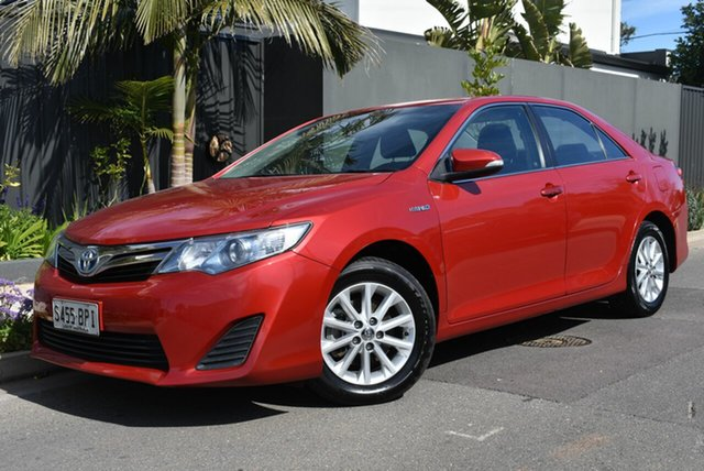 Used Toyota Camry AVV50R Hybrid H, 2012 Toyota Camry AVV50R Hybrid H Red 1 Speed Constant Variable Sedan Hybrid